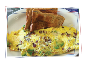 Omelet & Toast